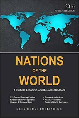 Nations of the World, 2016 (Paperback)