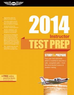 Instructor Test Prep 2014 Book and Tutorial Software Bundle - Test Prep