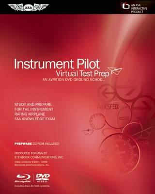 Instrument Pilot Virtual Test Prep: An Aviation Ground School (Widescreen Format) (DVD video)
