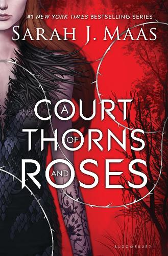 Cover of the book, A Court of Thorns and Roses (A Court of Thorns and Roses, #1).