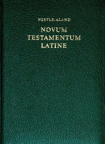 Novum Testamentum Latine (Hardback)