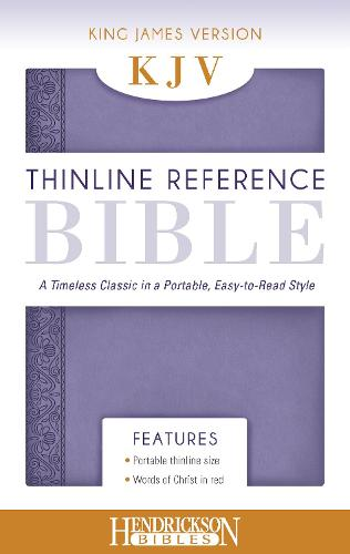 KJV Thinline Reference Bible Lilac: A Timeless Classic in a Portable, Easy-to-Read Style (Leather / fine binding)