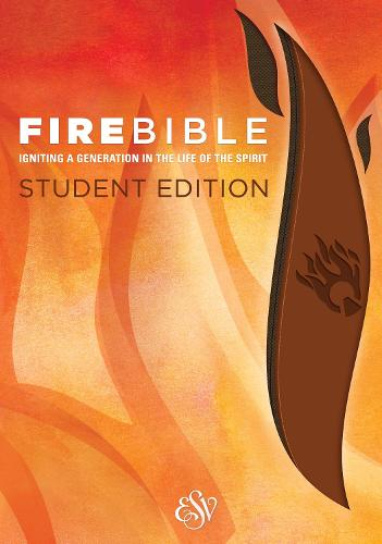 Fire Bible-ESV-Student (Leather / fine binding)