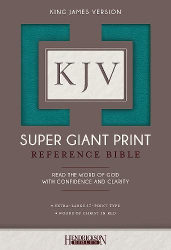 KJV Super Giant Print Bible (Leather / fine binding)