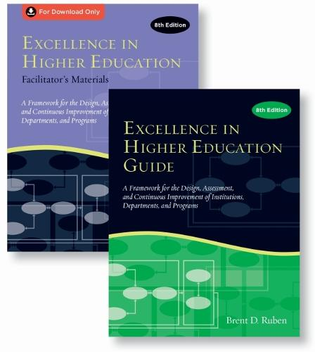 Excellence in Higher Education Guide & Facilitator's Materials Set (Paperback)