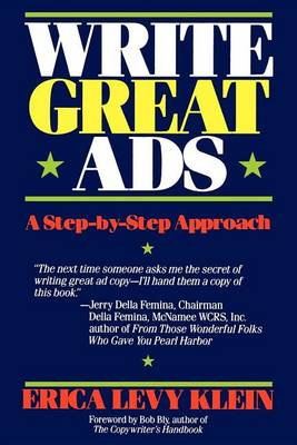 Write Great Ads: A Step-By-Step Approach (Hardback)