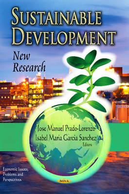 Sustainable Development: New Research (Hardback)