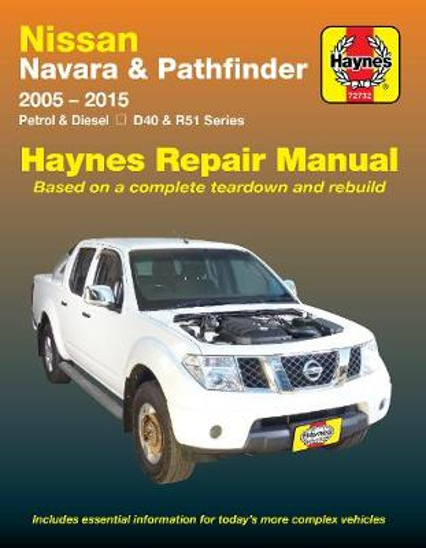 Nissan Navara And Pathfinder (Aus) (Paperback)