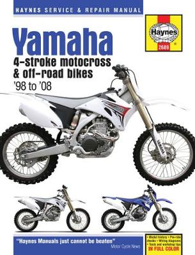 Yamaha Yz & Wr 4-Stroke Motocross Bikes (Paperback)