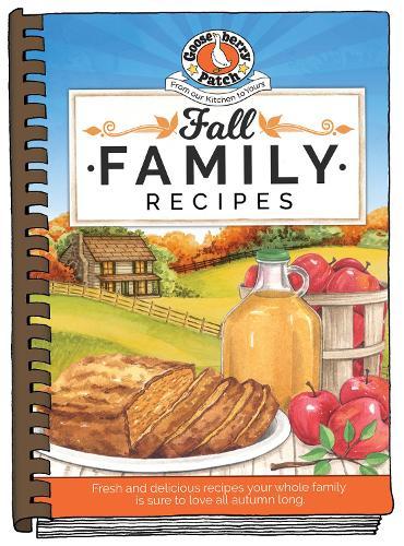 Fall Family Recipes - Seasonal Cookbook Collection (Hardback)