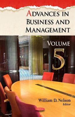 Advances in Business & Management: Volume 5 (Hardback)