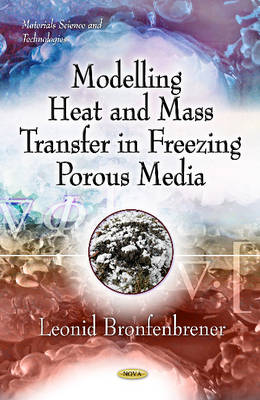 Modelling Heat & Mass Transfer in Freezing Porous Media (Hardback)
