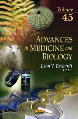 Advances in Medicine & Biology: Volume 45 (Hardback)