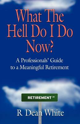 WHAT THE HELL DO I DO NOW? A Professionals' Guide to a Meaningful Retirement (Paperback)