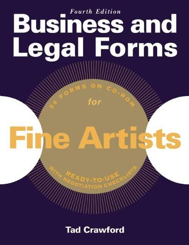 Business and Legal Forms for Fine Artists (Paperback)