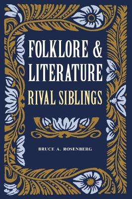 Folklore and Literature: Rival Siblings (Paperback)