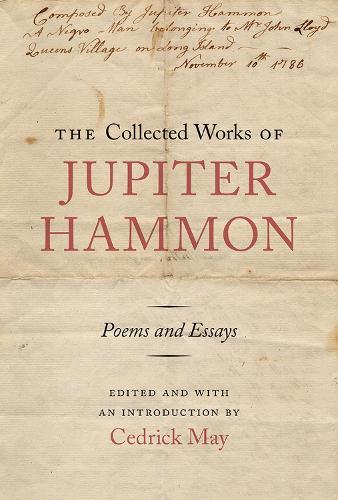 The Collected Works of Jupiter Hammon (Hardback)