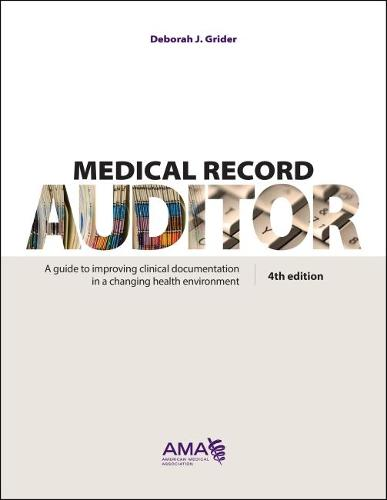 Medical Record Auditor (Hardback)