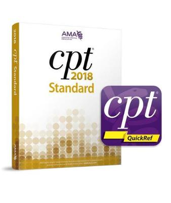 CPT 2018 Standard Codebook and CPT QuickRef app Package