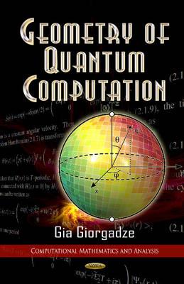 Geometry of Quantum Computations (Hardback)