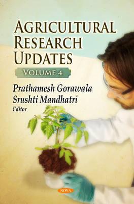Agricultural Research Updates: Volume 4 (Hardback)