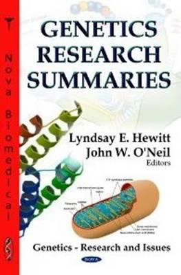 Genetics Research Summaries (Hardback)