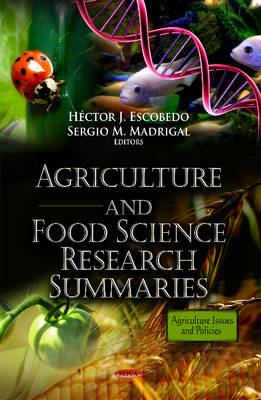 Agriculture & Food Science Research Summaries (Hardback)