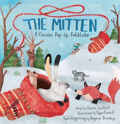 The Mitten: A Classic Pop-Up Folktale (Hardback)