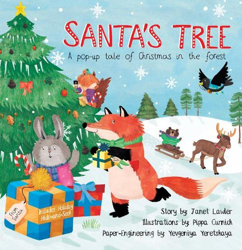 Santa's Tree: A Pop-Up Tale of Christmas in the Forest (Hardback)