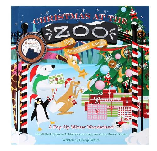 Christmas at the Zoo: A Pop-Up Wonderland (Hardback)