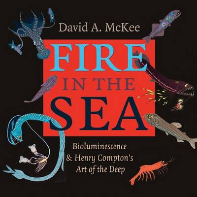 Fire in the Sea: Bioluminescence and Henry Compton's Art of the Deep - Gulf Coast Books, sponsored by Texas A&M University-Corpus Christi (Hardback)