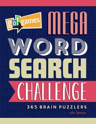 Go!Games Mega Word Search Challenge (Paperback)