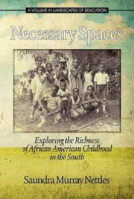Necessary Spaces: Exploring the Richness of African American Childhood in the South - Landscapes of Education (Hardback)