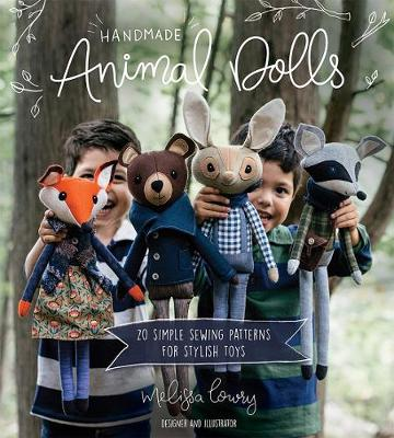 Handmade Animal Dolls: 20 Simple Sewing Patterns for Stylish Toys (Paperback)
