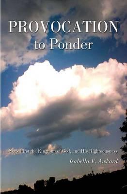 Provocation to Ponder (Paperback)