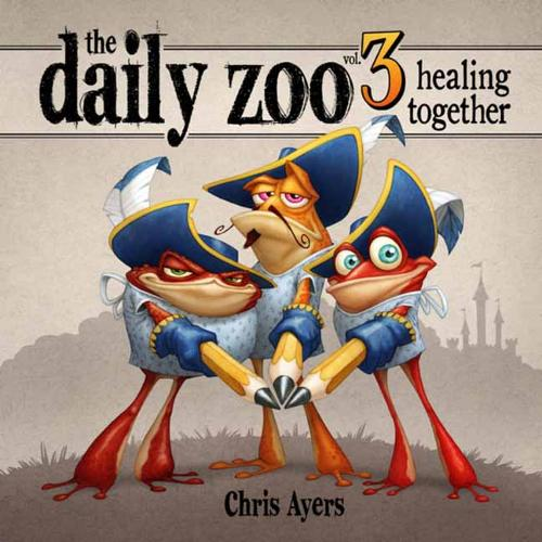 Daily Zoo: Volume 3: Healing Together (Hardback)