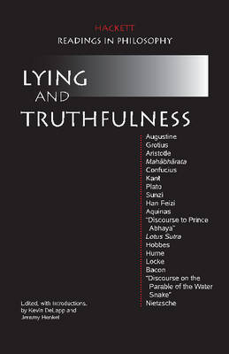 Lying and Truthfulness (Paperback)