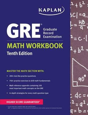 GRE Math Workbook - Kaplan Test Prep (Paperback)