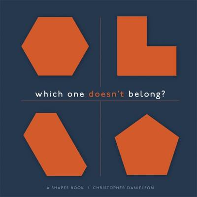 Which One Doesn't Belong?: A Shapes Book, 5 pack (Paperback)