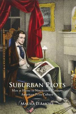 Suburban Plots: Men at Home in Nineteenth-Century American Print Culture - Studies in Print Culture and History of the Book (Hardback)