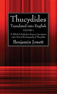 Thucydides Translated Into English (2 Volumes) (Paperback)