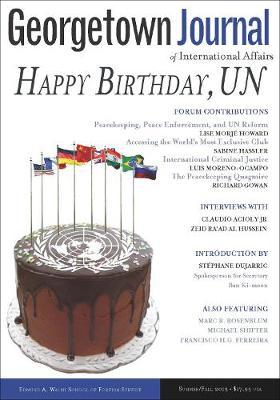 Georgetown Journal of International Affairs: Summer/Fall 2015, Volume 16, No. 2 (Paperback)
