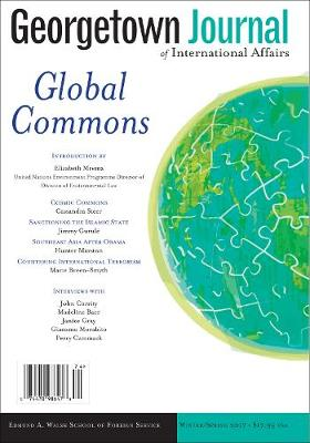 Georgetown Journal of International Affairs: Winter/Spring 2017, Volume 18, No. 1 (Paperback)