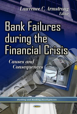 Bank Failures During the Financial Crisis: Causes & Consequences (Hardback)