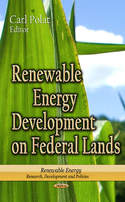 Cover Renewable Energy Development on Federal Lands