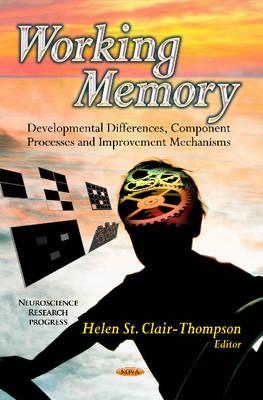 Working Memory: Developmental Differences, Component Processes & Improvement Mechanisms (Hardback)