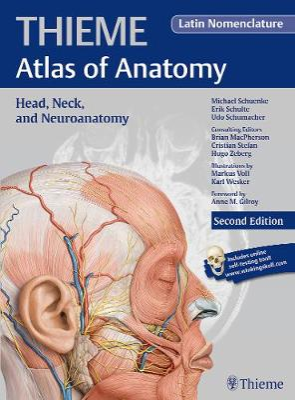 Head, Neck, and Neuroanatomy (THIEME Atlas of Anatomy), Latin nomenclature (Hardback)