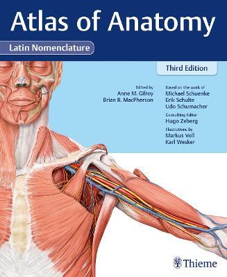 Atlas of Anatomy, 3e Latin (Hardback)