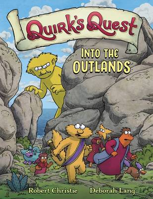 Quirk's Quest: Into the Outlands (Hardback)