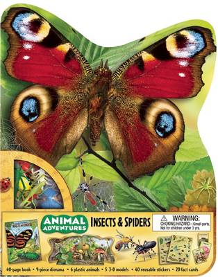Animal Adventures: Insects and Spiders - Animal Adventures (Silver Dolphin)